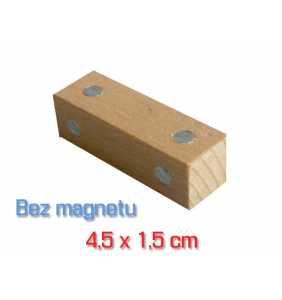 A6 - Stavebný hranol bez magnetu
