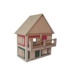 D 11 - Poschodový dom s veľkou strechou a balkónom